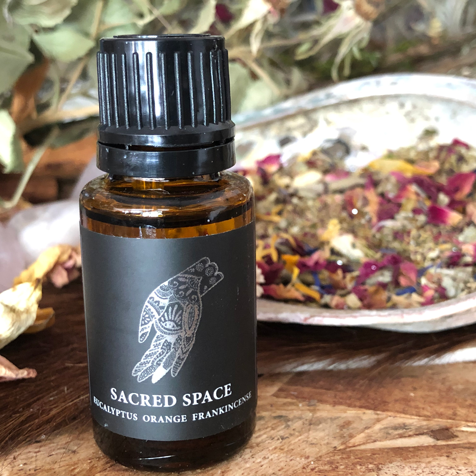Sacred Space Essential Oil Blend Magic Fairy Candles